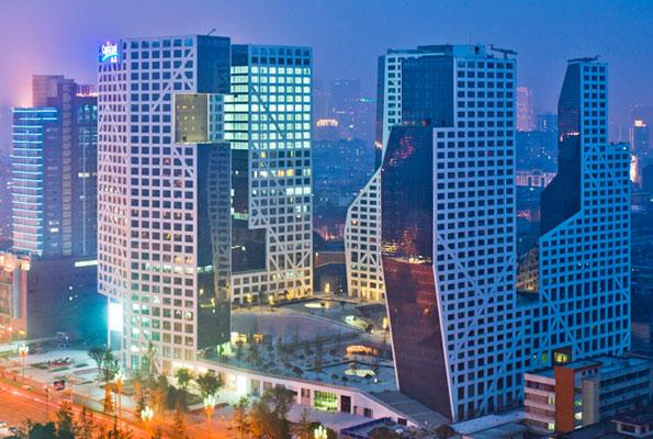 成都来福士广场 Raffles City Chengdu